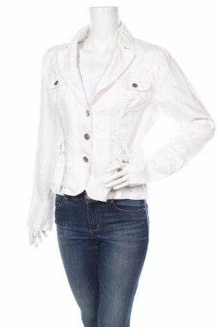 Дамско сако Street One, Размер M, Цвят Бял, 100% лен, Цена 6,00лв.