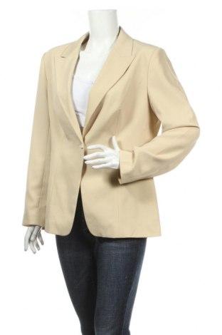 Γυναικείο σακάκι Yorn, Μέγεθος L, Χρώμα Εκρού, Πολυεστέρας, Τιμή 4,18€