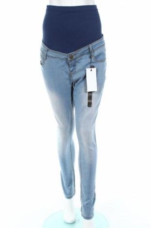 Jeansy ciążowe Bandia Maternity, Rozmiar L, Kolor Niebieski, 76% bawełna, 22% poliester, 2% elastyna, Cena 34,00zł