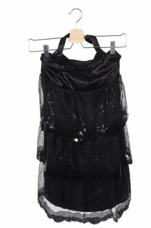 Детска рокля Justice, Размер 11-12y/ 152-158 см, Цвят Черен, Полиестер, Цена 6,00лв.