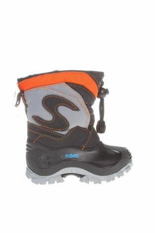 Детски обувки Spirale, Размер 21, Цвят Сив, Текстил, еко кожа, полиуретан, Цена 27,36лв.