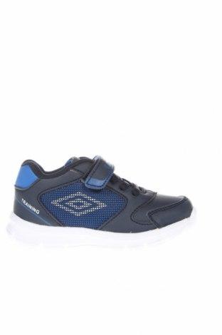 Detské topánky  Umbro, Veľkosť 24, Farba Modrá, Eko koža , Cena  16,06€