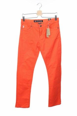 Детски панталон Camaro, Размер 15-18y/ 170-176 см, Цвят Оранжев, 98% памук, 2% еластан, Цена 9,00лв.