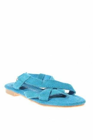 Παιδικά σανδάλια, Μέγεθος 26, Χρώμα Μπλέ, Φυσικό σουέτ, Τιμή 6,50€