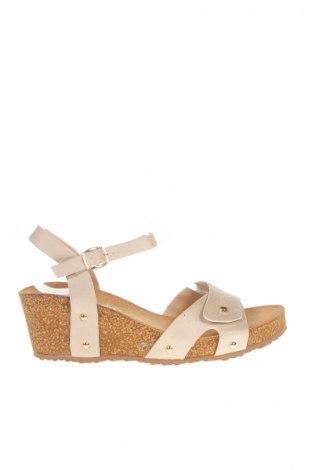 Detské sandály   Forever Folie, Veľkosť 39, Farba Béžová, Textil, Cena  12,63€