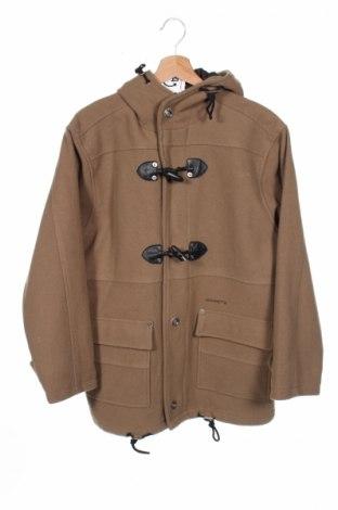 Детско палто Amaretto, Размер 13-14y/ 164-168 см, Цвят Бежов, 75% вълна, 20% полиамид, 5% други тъкани, Цена 48,00лв.