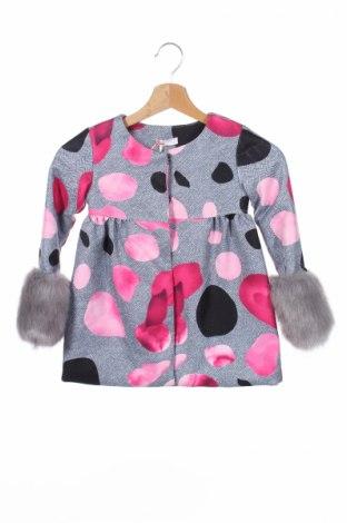 Детско палто Fun & Fun, Размер 4-5y/ 110-116 см, Цвят Многоцветен, Полиестер, Цена 66,24лв.