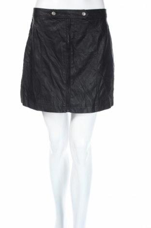 Kožená sukňa  Abercrombie & Fitch, Veľkosť M, Farba Čierna, Eko koža , Cena  13,38€