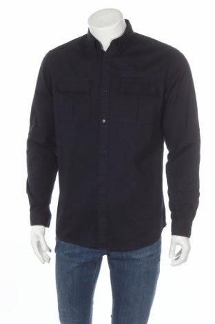 Ανδρικό πουκάμισο Core By Jack & Jones, Μέγεθος L, Χρώμα Μπλέ, 100% βαμβάκι, Τιμή 12,45€
