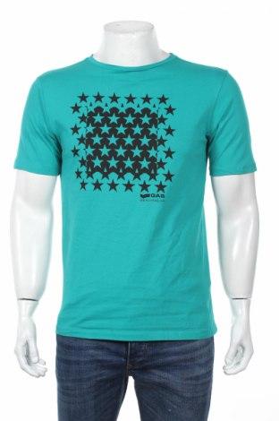 Tricou de bărbați Gas, Mărime M, Culoare Verde, 100% bumbac, Preț 63,55 Lei