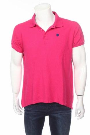 Tricou de bărbați Polo Club, Mărime L, Culoare Roz, Bumbac, Preț 38,16 Lei