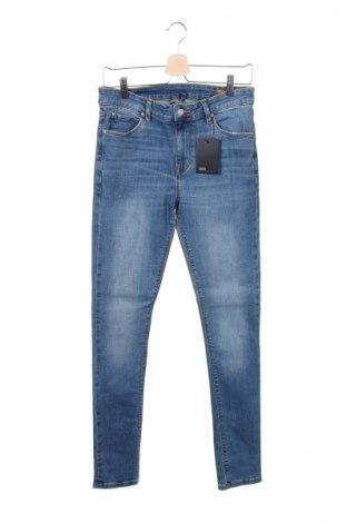 Pánské džíny  Asos, Rozměr S, Barva Modrá, 98% bavlna, 2% elastan, Cena  323,00Kč