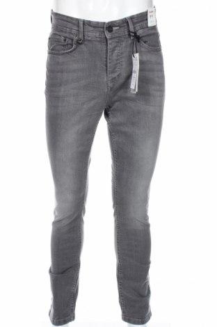 Pánske džínsy  Pull&Bear, Veľkosť S, Farba Sivá, 98% bavlna, 2% elastan, Cena  8,89€
