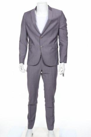 Ανδρικό κοστούμι Drykorn for beautiful people, Μέγεθος M, Χρώμα Γκρί, 80% μαλλί, 20% μοχαίρ, Τιμή 198,70€