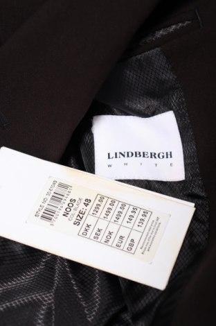 Мъжки костюм Lindbergh, Размер M, Цвят Черен, 68% полиестер, 30% вискоза, 2% еластан, Цена 239,00лв.