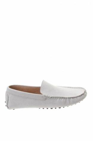 Мъжки обувки John Scott, Размер 44, Цвят Сив, Естествен велур, Цена 44,80лв.