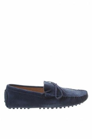 Pánske topánky John Scott, Veľkosť 43, Farba Modrá, Prírodný velur , Cena  20,21€