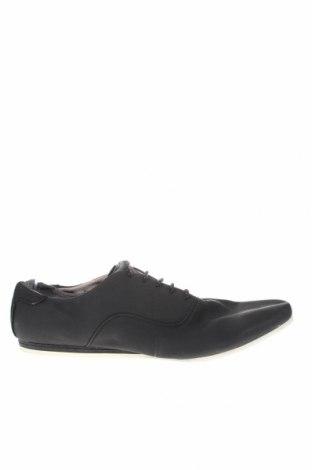 Мъжки обувки Zara Man, Размер 45, Цвят Черен, Текстил, Цена 5,25лв.