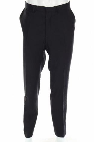 Ανδρικό παντελόνι Asos, Μέγεθος XL, Χρώμα Μαύρο, 100% μαλλί, Τιμή 13,76€