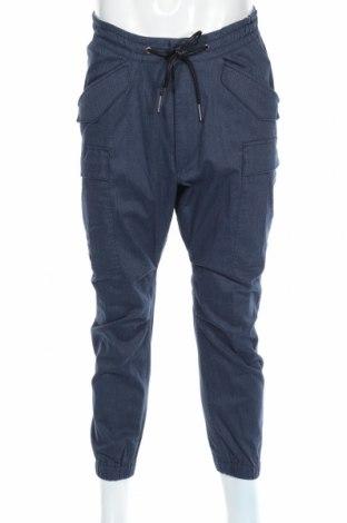 Ανδρικό παντελόνι Drykorn for beautiful people, Μέγεθος M, Χρώμα Μπλέ, 72% βαμβάκι, 26% πολυεστέρας, 3% ελαστάνη, Τιμή 28,22€