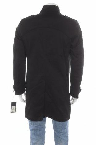 Мъжки шлифер Drykorn for beautiful people, Размер M, Цвят Черен, 97% памук, 3% еластан, Цена 125,65лв.
