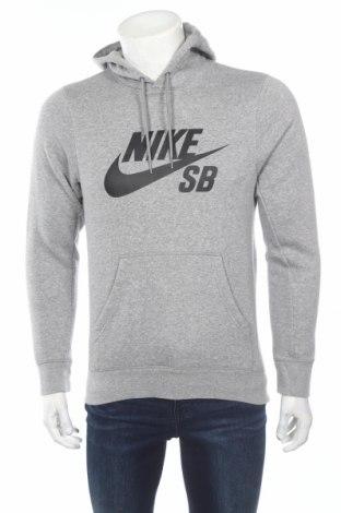 Мъжки суичър Nike, Размер XS, Цвят Сив, 80% памук, 20% полиестер, Цена 77,35лв.