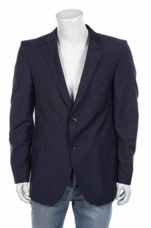 Ανδρικό σακάκι Strellson, Μέγεθος L, Χρώμα Μπλέ, Τιμή 35,95€