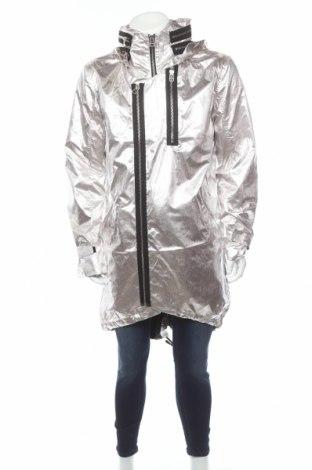 Ανδρικό μπουφάν Adidas Slvr, Μέγεθος M, Χρώμα Ασημί, Πολυαμίδη, Τιμή 35,49€