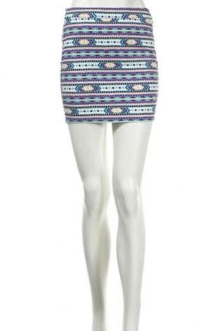 Φούστα H&M Divided, Μέγεθος XS, Χρώμα Πολύχρωμο, 98% βαμβάκι, 2% ελαστάνη, Τιμή 3,27€