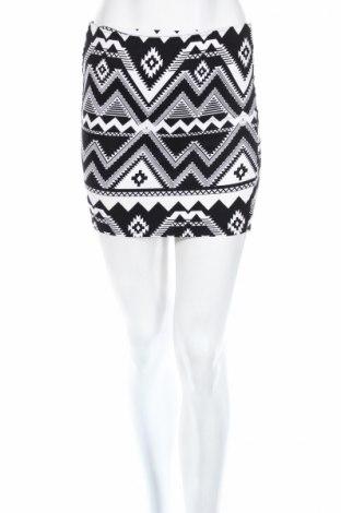 Φούστα H&M Divided, Μέγεθος XS, Χρώμα Μαύρο, 97% βαμβάκι, 3% ελαστάνη, Τιμή 2,78€