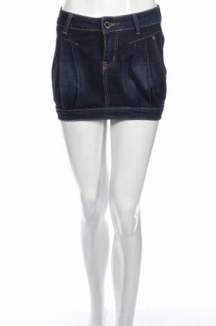 Φούστα Miss Swan, Μέγεθος XS, Χρώμα Μπλέ, 80% βαμβάκι, 10% πολυεστέρας, 10% ελαστάνη, Τιμή 3,88€