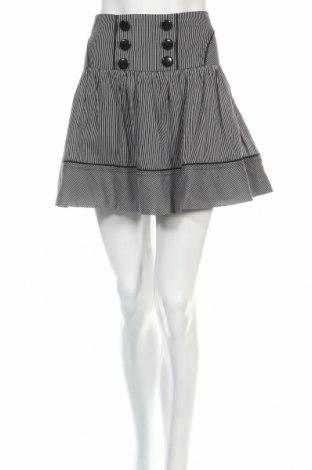 Φούστα Naf Naf, Μέγεθος L, Χρώμα Μαύρο, Βαμβάκι, Τιμή 2,78€