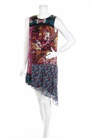 Рокля Anna Sui, Размер S, Цвят Многоцветен, 90% коприна, 10% полиестер, Цена 222,25лв.
