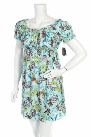 Рокля Anna Sui, Размер S, Цвят Многоцветен, 78% вискоза, 22% коприна, Цена 215,70лв.