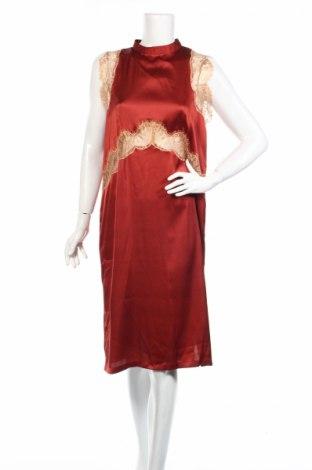 Φόρεμα Asos, Μέγεθος M, Χρώμα Κόκκινο, Πολυεστέρας, πολυαμίδη, Τιμή 18,87€