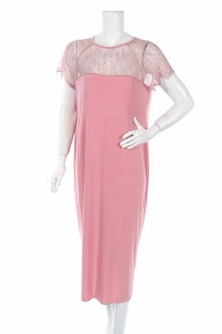 Rochie Asos, Mărime XL, Culoare Roz, 92% poliester, 8% elastan, Preț 72,95 Lei