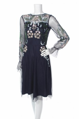 Φόρεμα Frock And Frill, Μέγεθος S, Χρώμα Μπλέ, Πολυεστέρας, Τιμή 32,09€