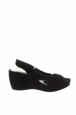 Sandały Accessoire Diffusion, Rozmiar 35, Kolor Czarny, Naturalny zamsz, Cena 126,48zł