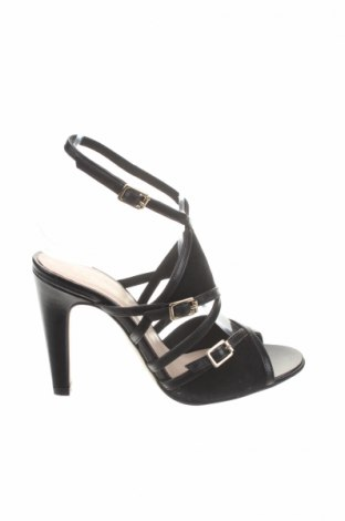 Сандали San Marina, Размер 36, Цвят Черен, Естествена кожа, естествен велур, Цена 48,00лв.