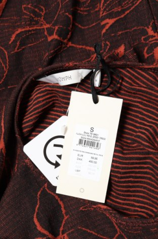 Туника Numph, Размер S, Цвят Кафяв, 76% памук, 24% полиестер, Цена 28,60лв.