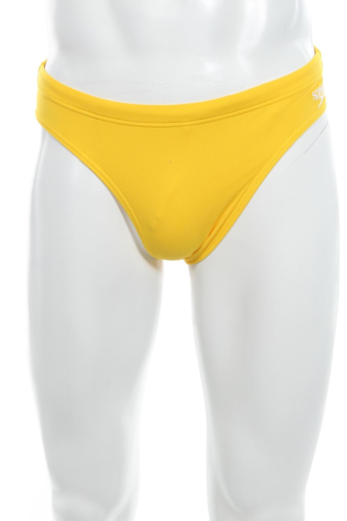 Мъжки бански Speedo, Размер S, Цвят Жълт, Полиестер, Цена 21,60лв.