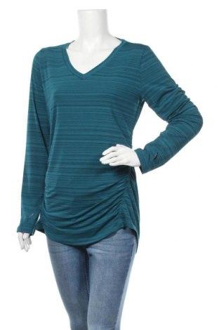 Блуза за бременни Eddie Bauer, Размер L, Цвят Син, 93% полиестер, 7% еластан, Цена 31,32лв.