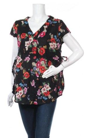 Блуза за бременни H&M Mama, Размер L, Цвят Черен, Памук, Цена 10,71лв.