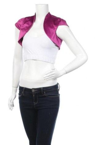 Болеро Comma,, Размер S, Цвят Розов, 56% полиестер, 38% памук, 6% еластан, Цена 10,24лв.