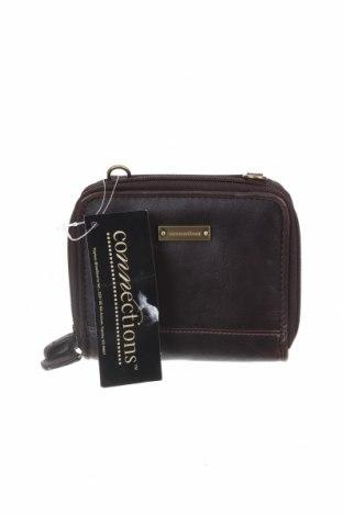 Дамска чанта Connections, Цвят Кафяв, Еко кожа, Цена 22,84лв.