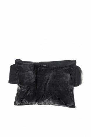 Чанта за кръст, Цвят Черен, Еко кожа, Цена 32,13лв.