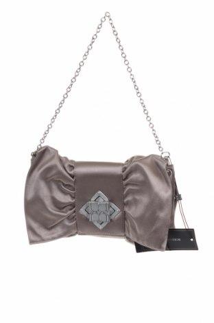Дамска чанта BCBG Max Azria, Цвят Сив, Текстил, Цена 117,18лв.