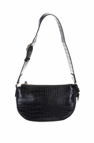 Γυναικεία τσάντα Mango, Χρώμα Μαύρο, Δερματίνη, Τιμή 22,73€