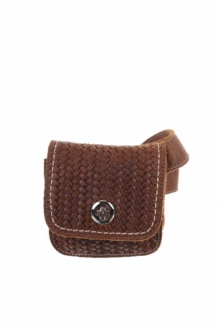 Τσάντα Roots, Χρώμα Καφέ, Γνήσιο δέρμα, Τιμή 23,38€