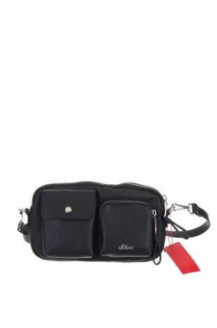 Чанта за кръст S.Oliver, Цвят Черен, Еко кожа, Цена 40,05лв.